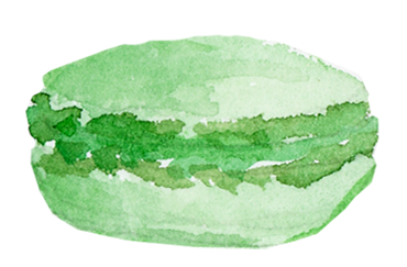 Digital Paperie - Green Macaron