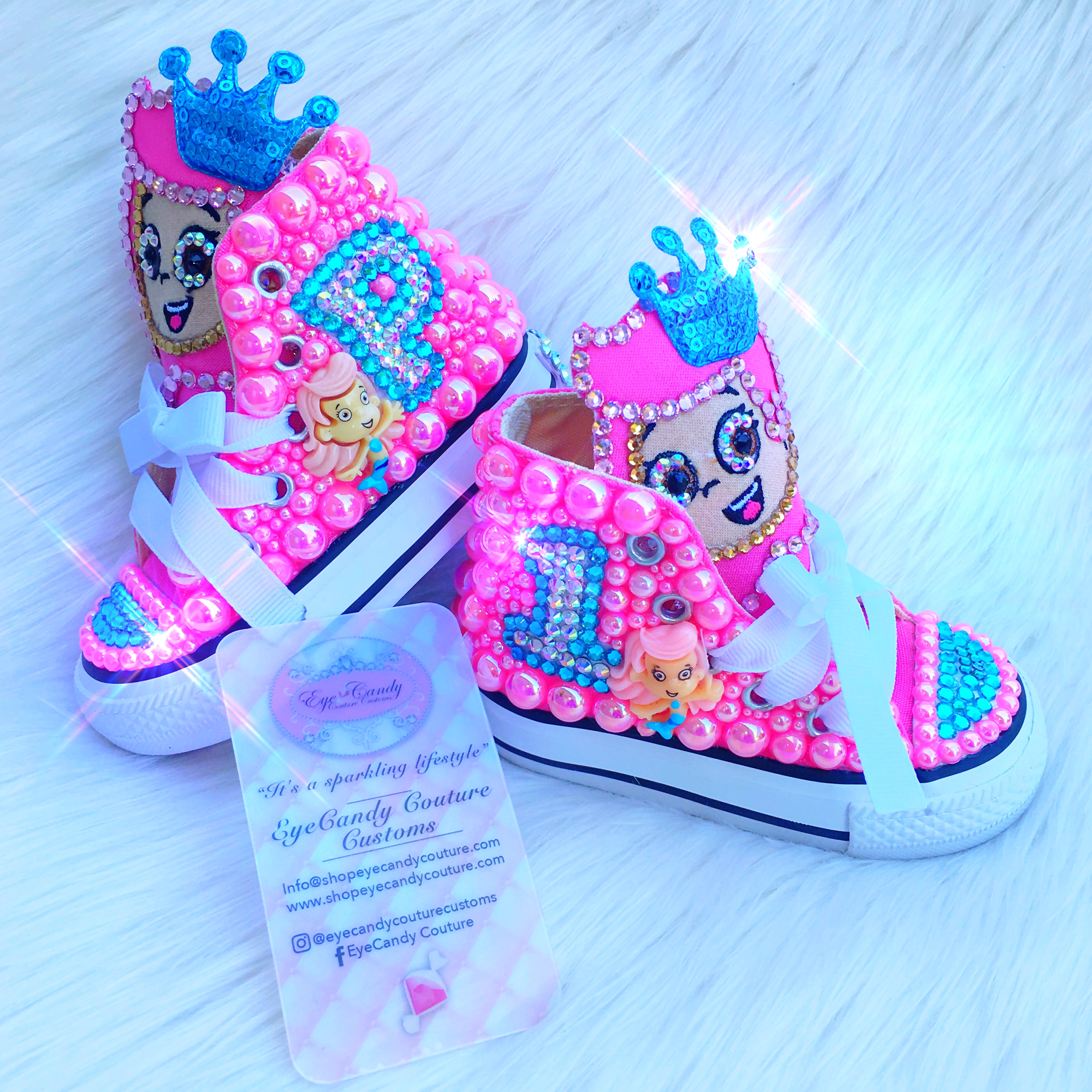 molly bubble guppies shoecandy eyecandy couture bling apparel